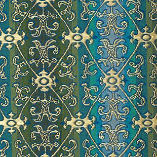 龍象金鈎文 緑