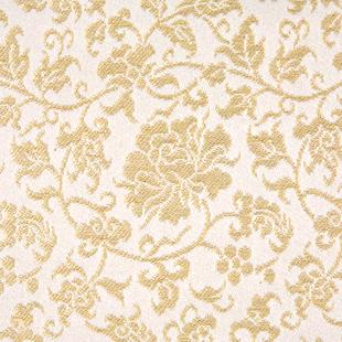 名物一重蔓中牡丹金襴 白金