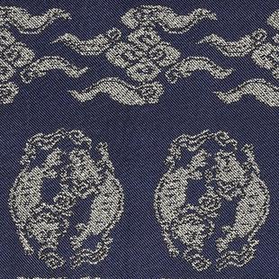獅子丸金襴 紺