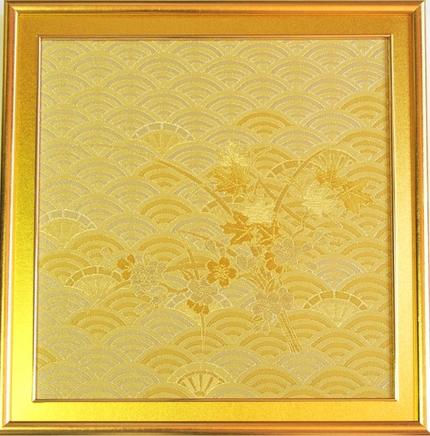 トヨタ自動車ディーラー世界大会記念品<br><p>「豊穣青海波ー桜とメープル」